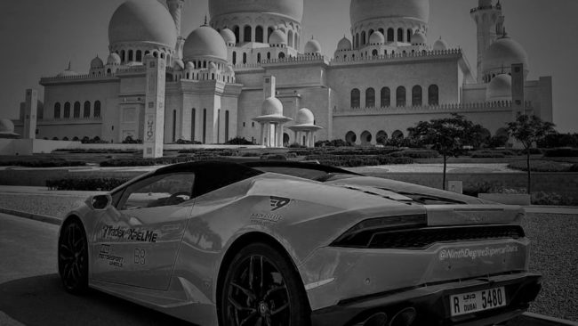 B8 Architecture is at «Catch The Camel» Supercar Race in Dubai
