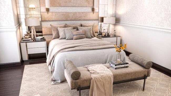 Nad al Sheba / Classic Romantic Style Bedroom