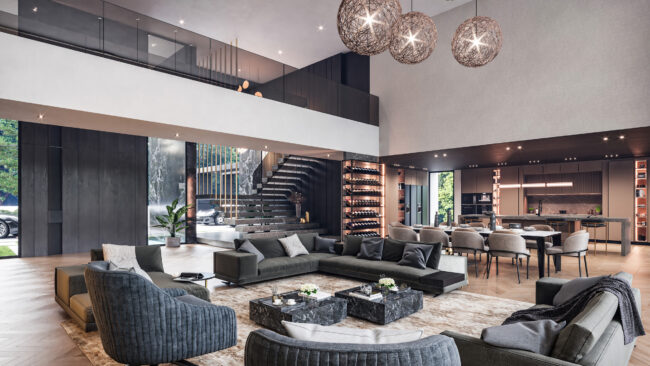 Villa Greenwich / Interior Design